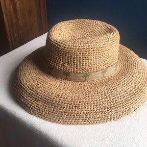 Scala Accessories - Scala raffia sun / beach hat, OS